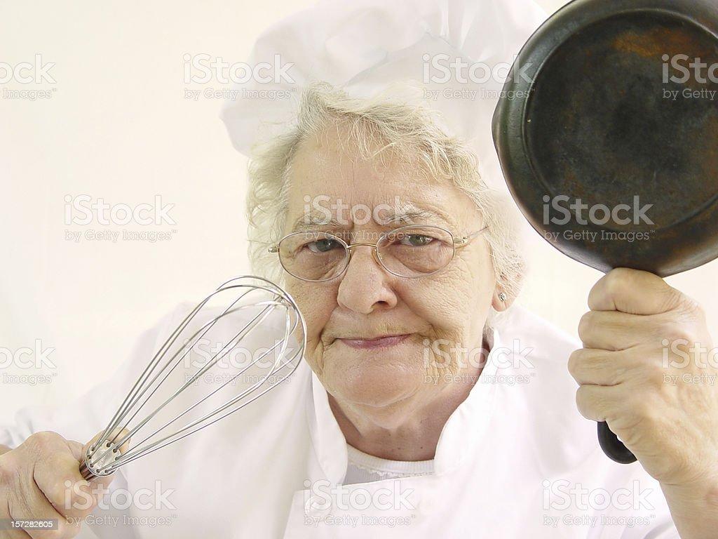 chef series - my kitchen! stock photo