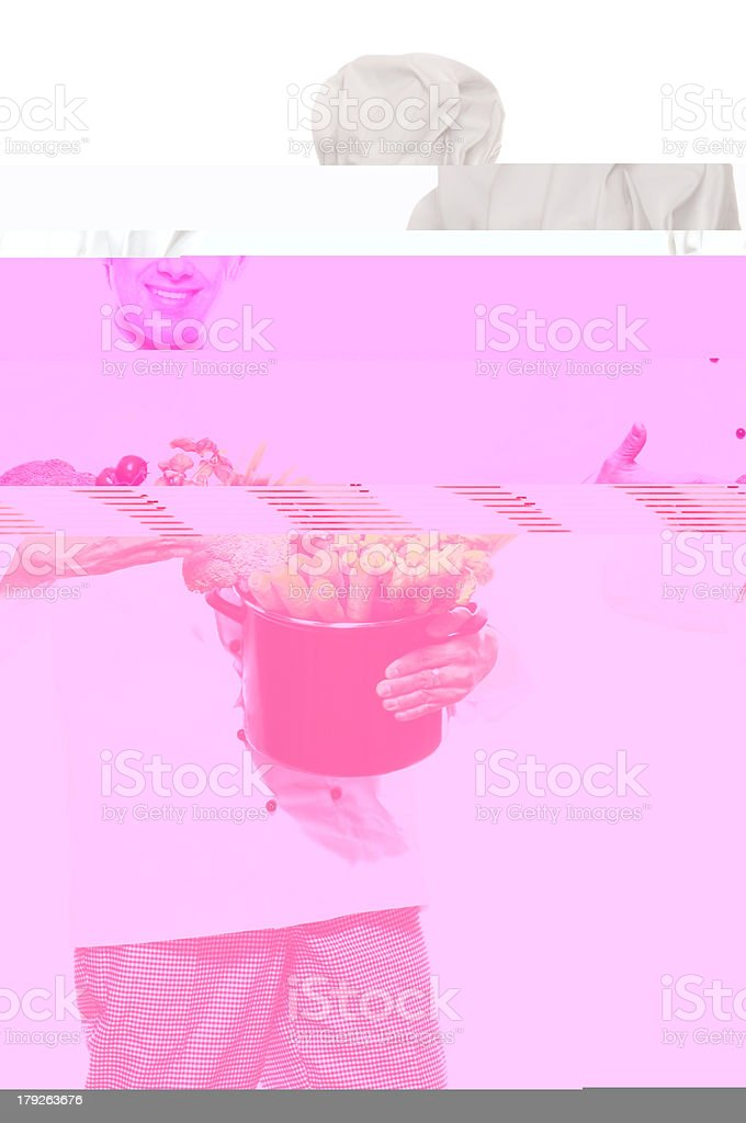 Chef serie royalty-free stock photo