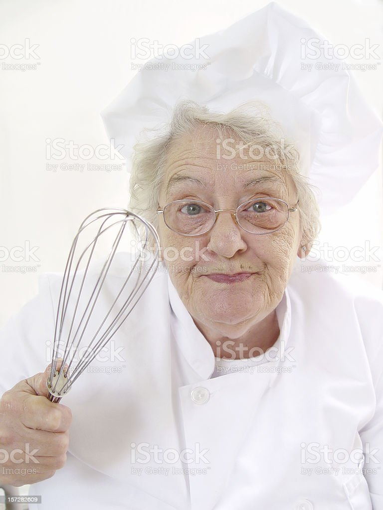 chef series - whip it stock photo
