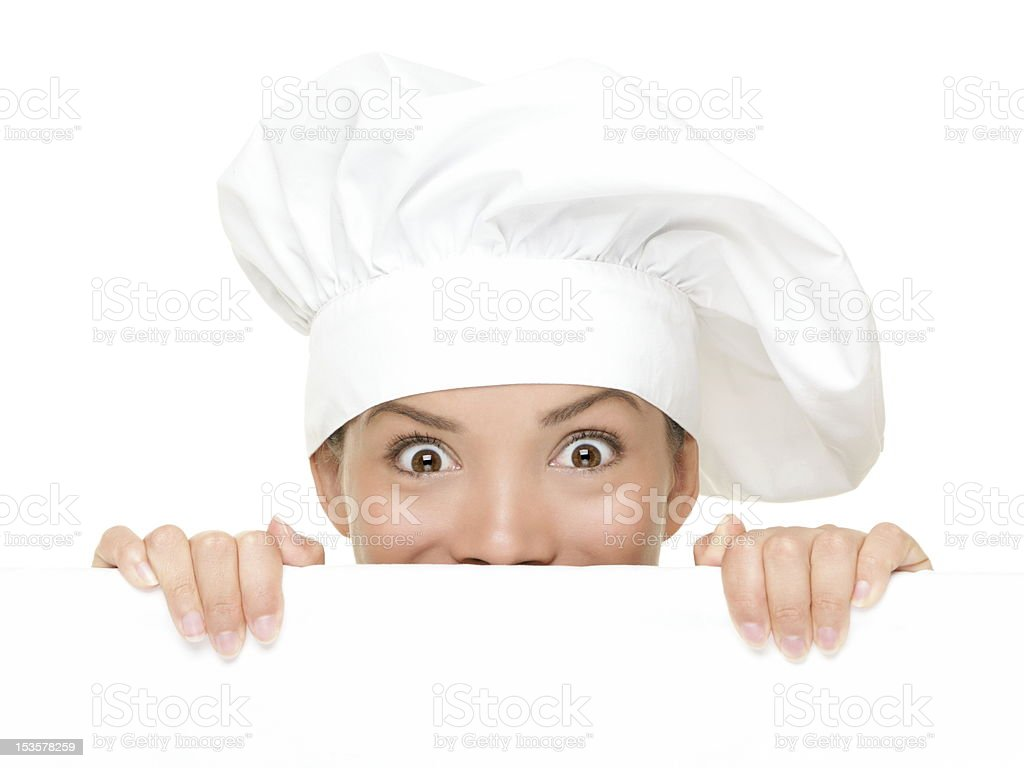 Chef Sign stock photo