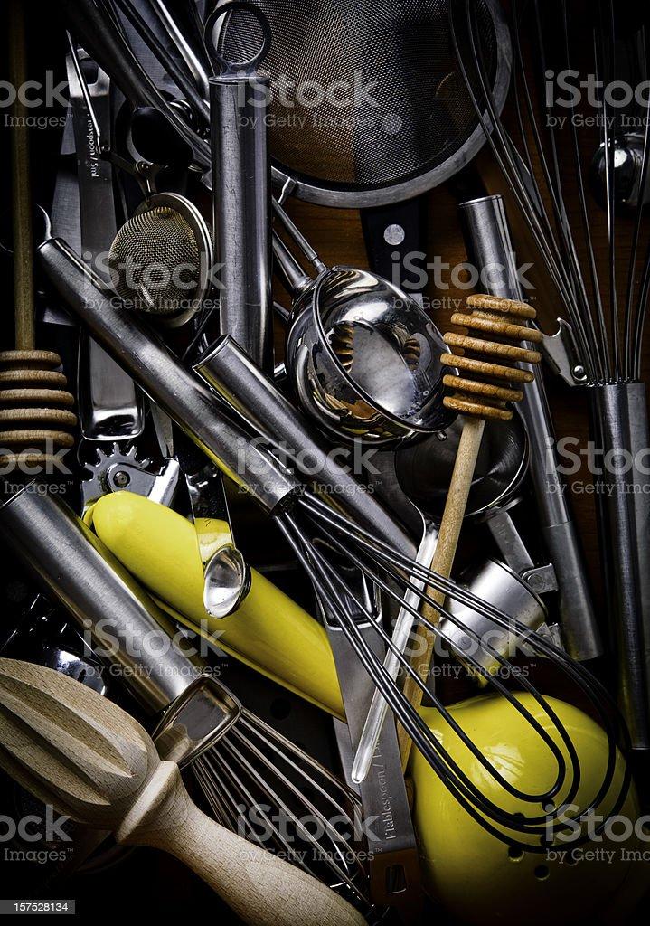 chef tools stock photo