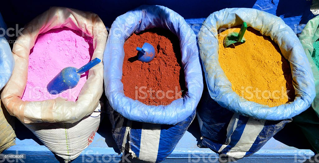Chefchaouen stock photo