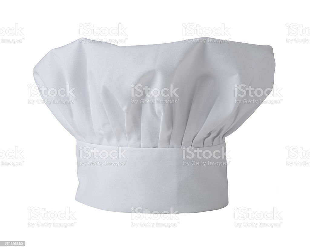 Chef's hat isolated royalty-free stock photo