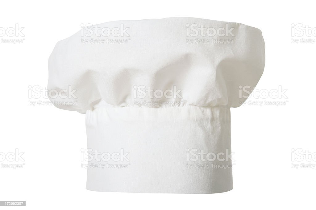 Chef's Hat (clipping path) royalty-free stock photo