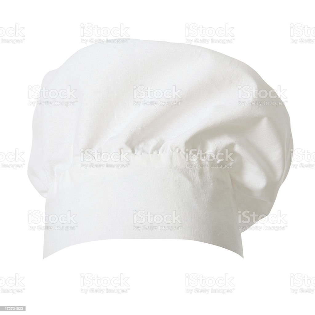 Chef's Hat (clipping path) stock photo