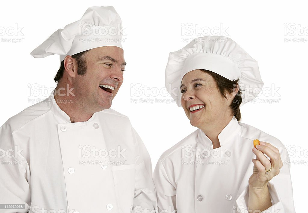 Chefs Having Fun royalty-free stock photo