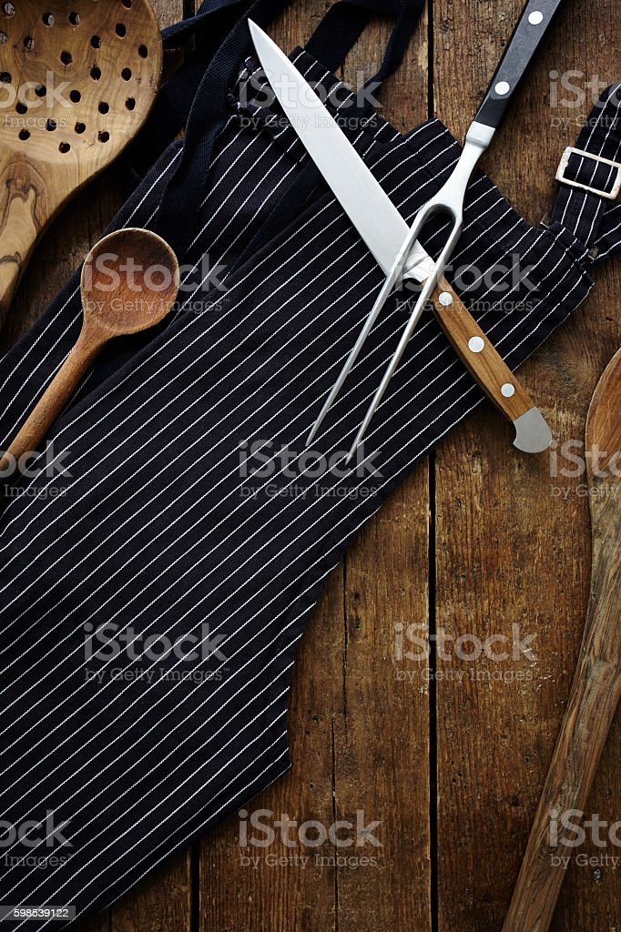 Chef's tools stock photo