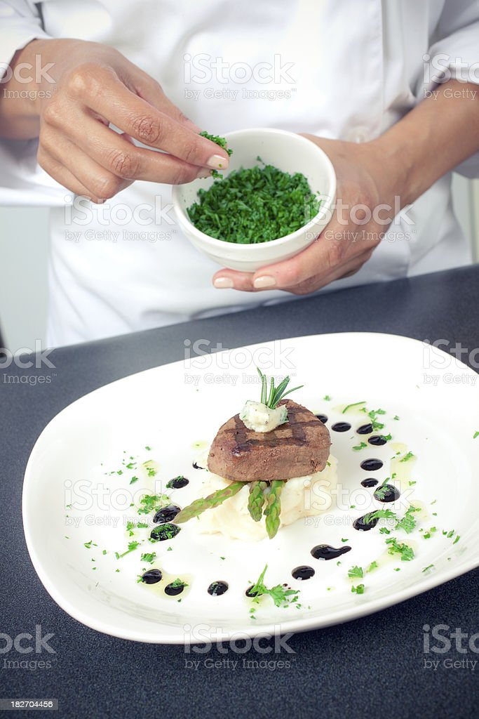 Chef's Touch stock photo