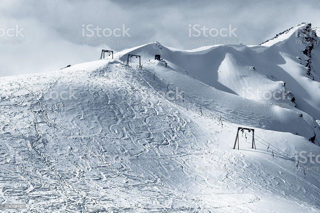 Cheget Mount royalty-free stock photo