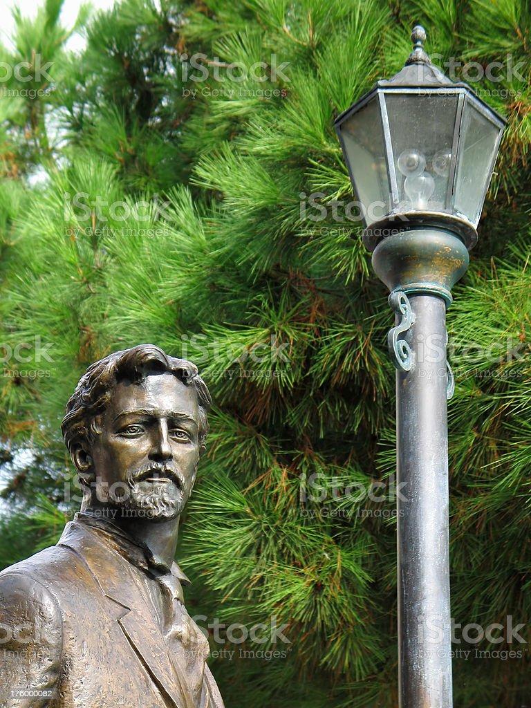 Chekhov and the Lantern stock photo