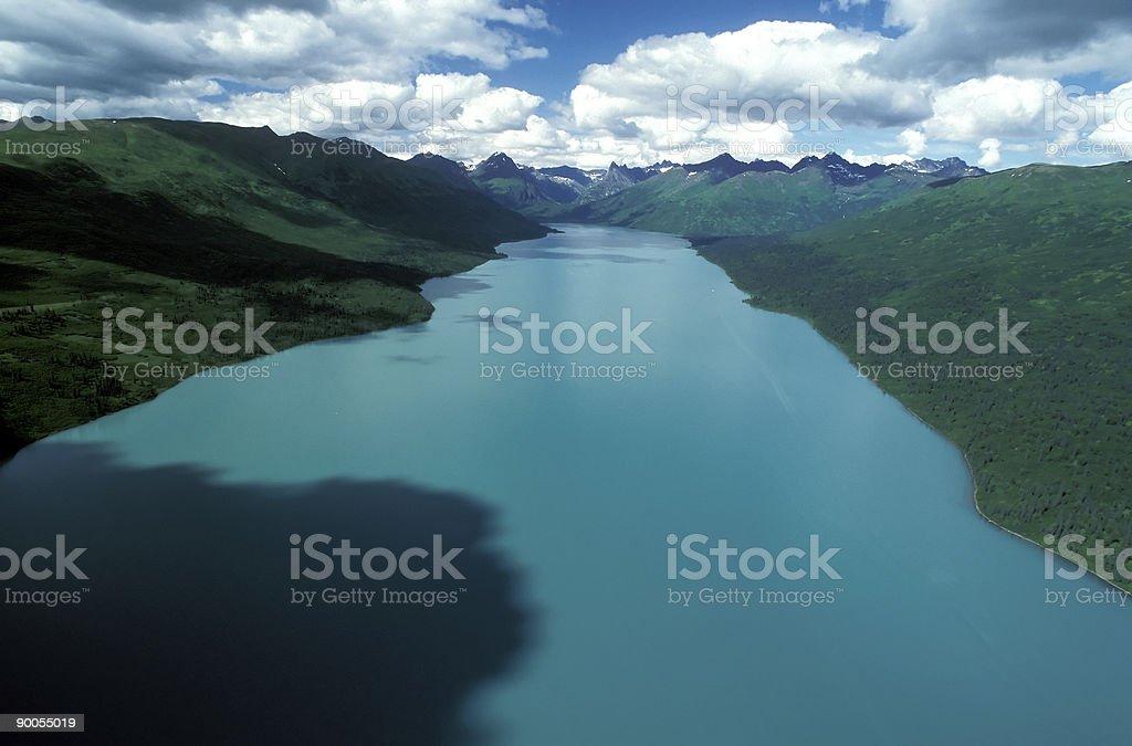 Chelatna Lake royalty-free stock photo