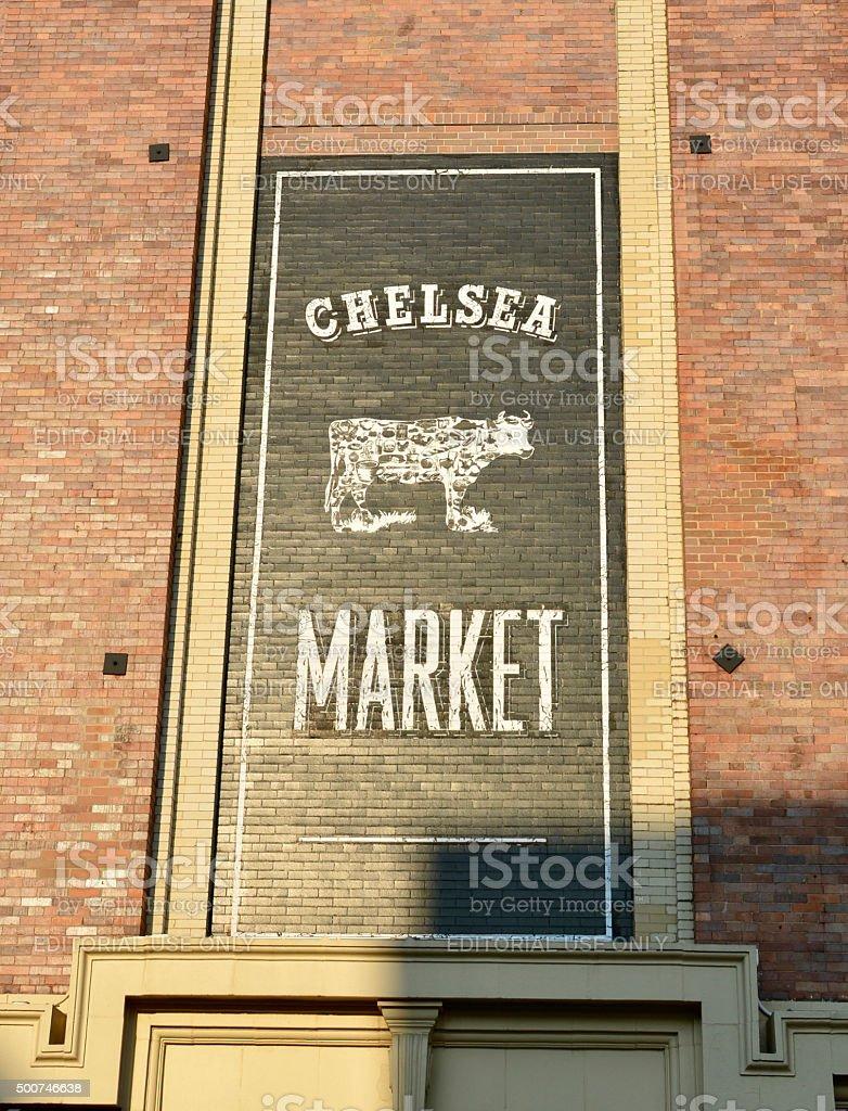 Chelsea Market New York City stock photo