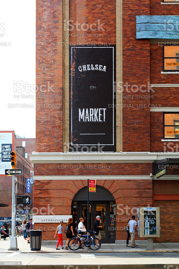 Chelsea Market stock photo
