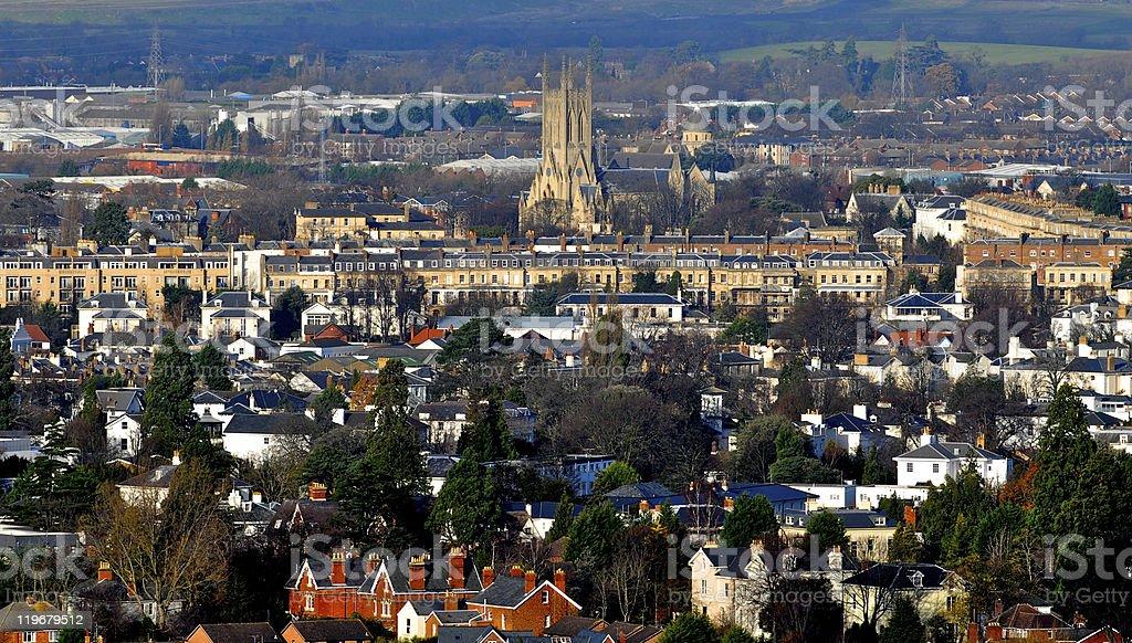 Cheltenham UK stock photo