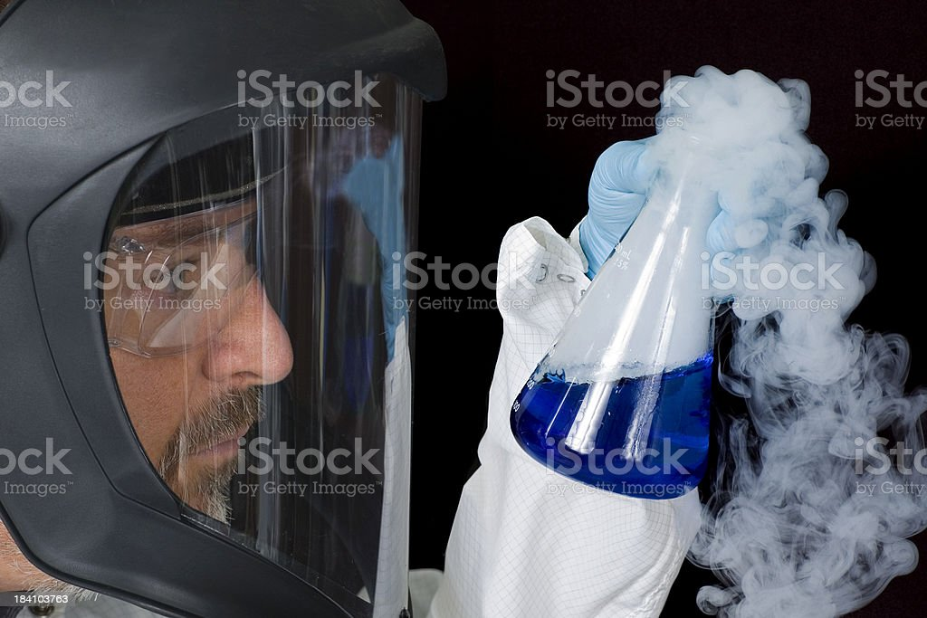 Chem Tech royalty-free stock photo