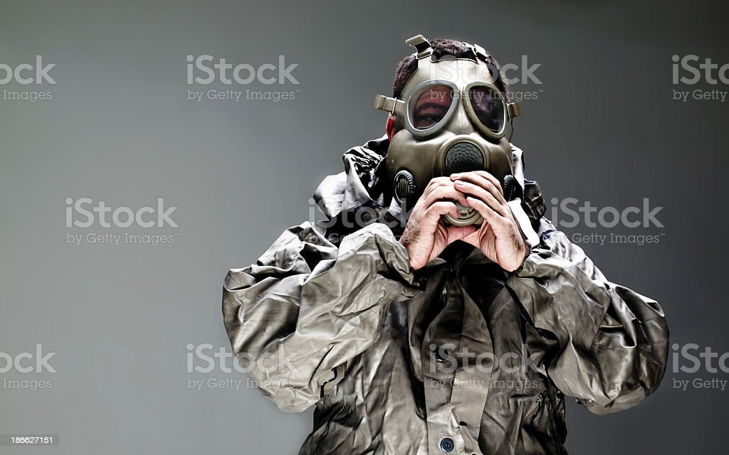 chemical attack ebola royalty-free stock photo