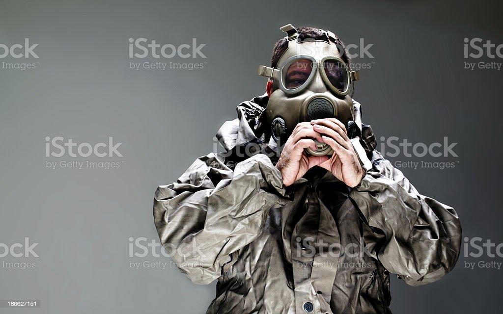 chemical attack ebola stock photo