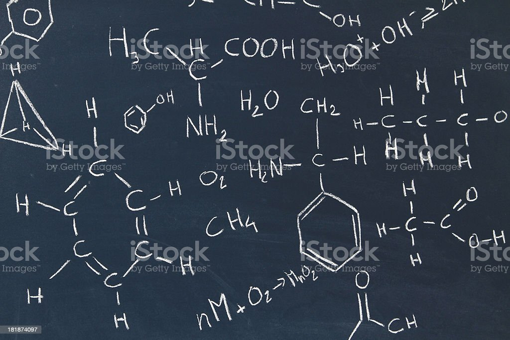 chemical background royalty-free stock photo