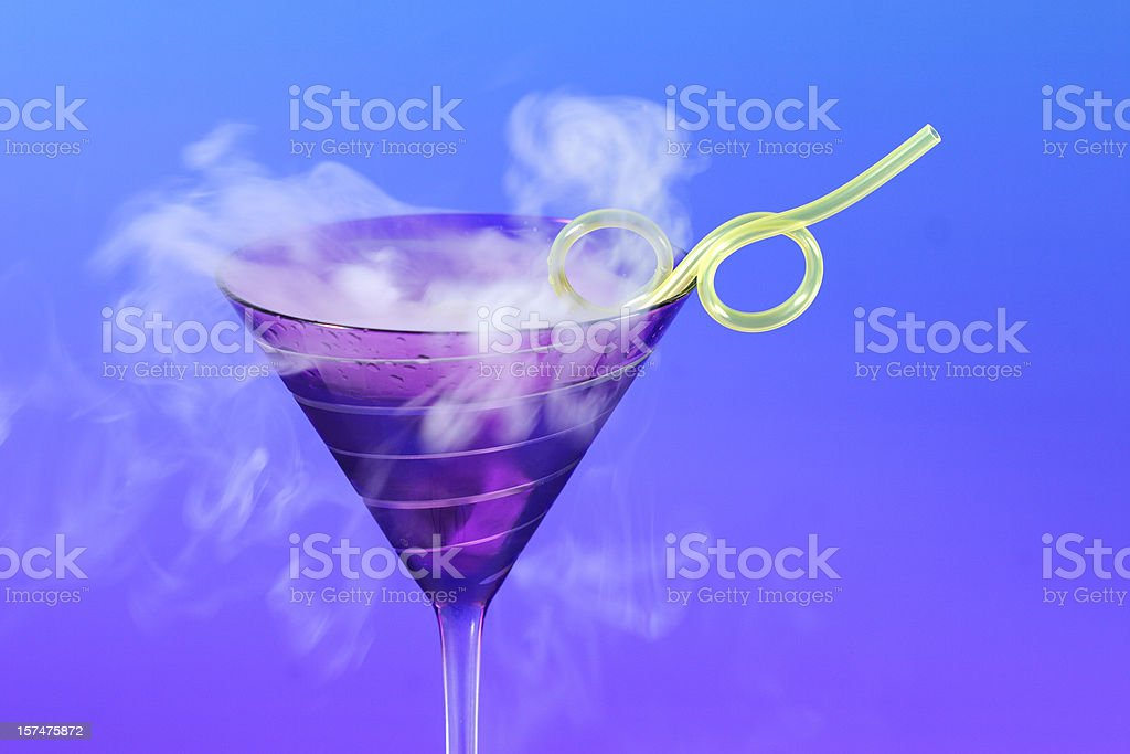 Chemical cocktail royalty-free stock photo
