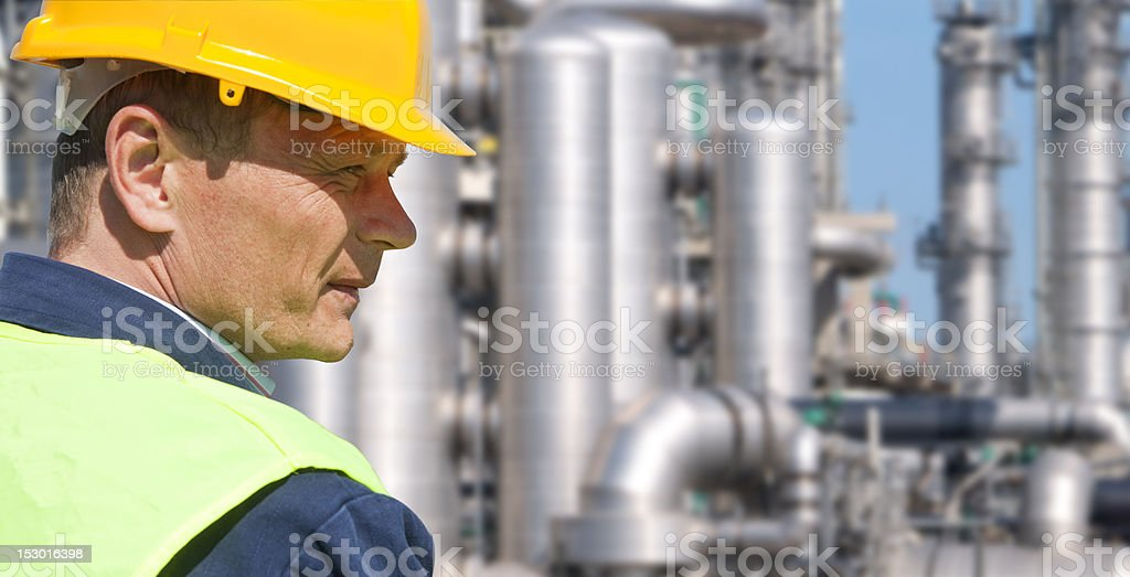 Chemical Engineer royalty-free stock photo
