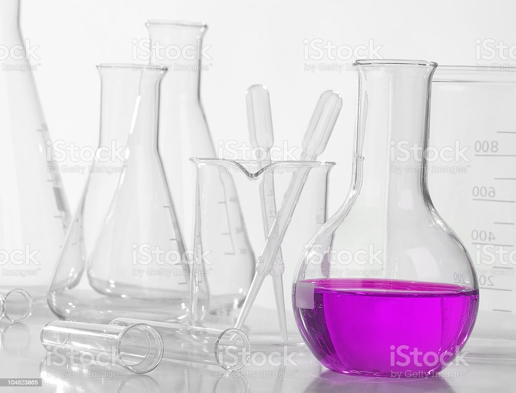 Chemical equipment stock photo