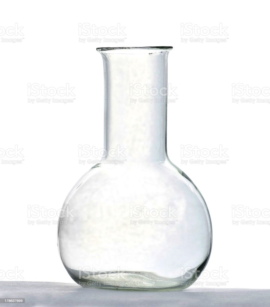 Chemical flask royalty-free stock photo