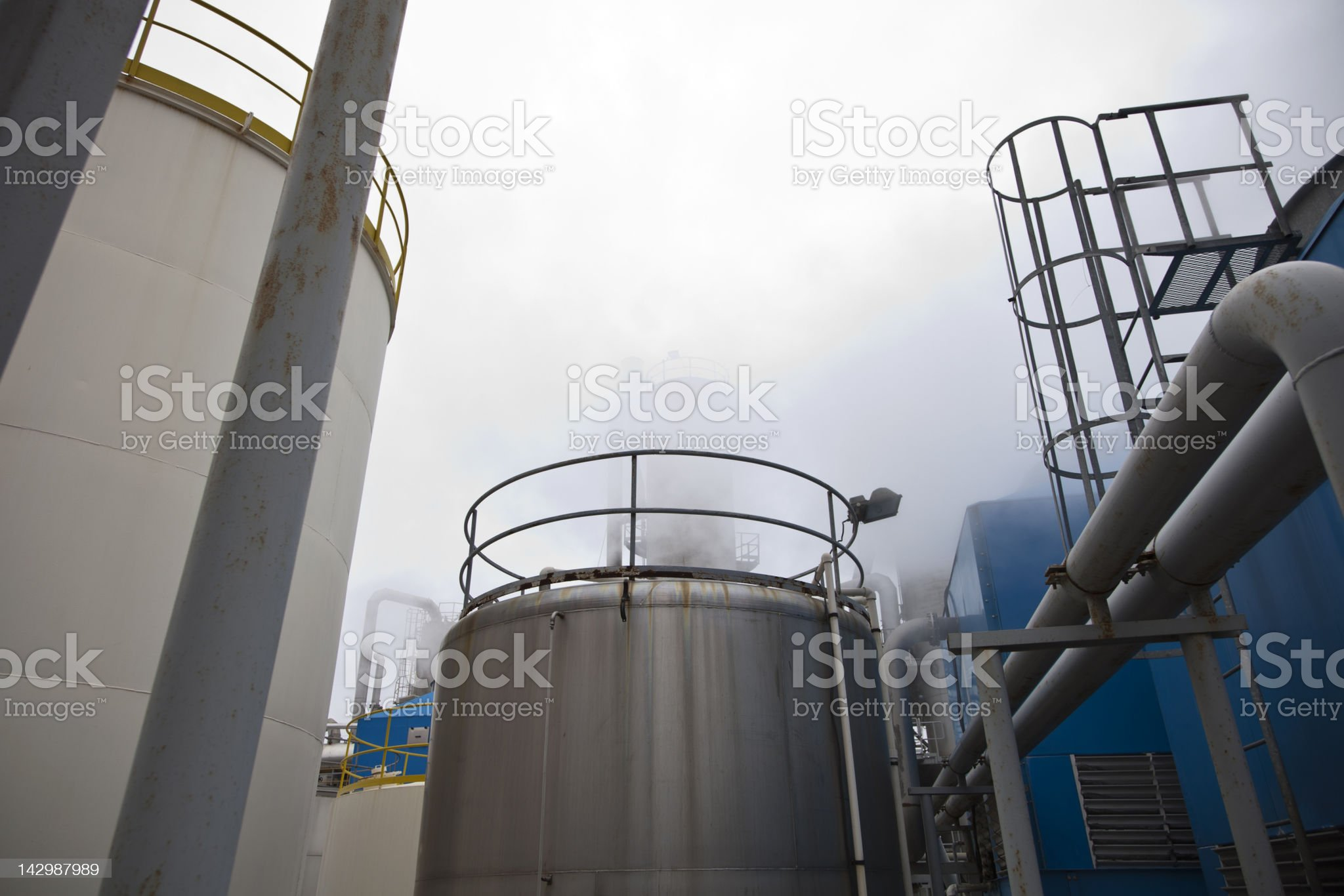Chemical Industrial Building II royalty-free stock photo