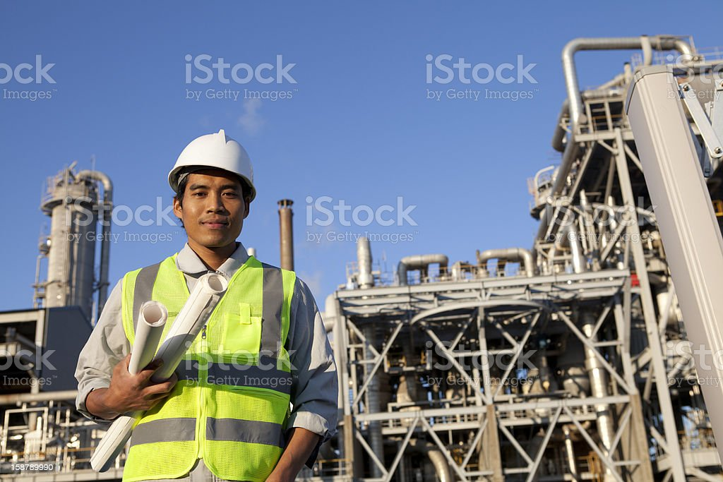 chemical Industrie engineer Lizenzfreies stock-foto