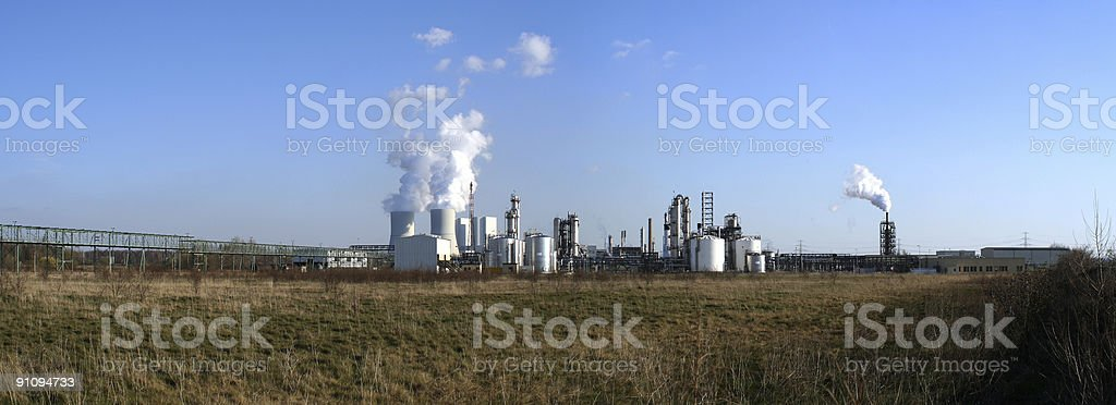 Chemische Industrie 3 royalty-free stock photo