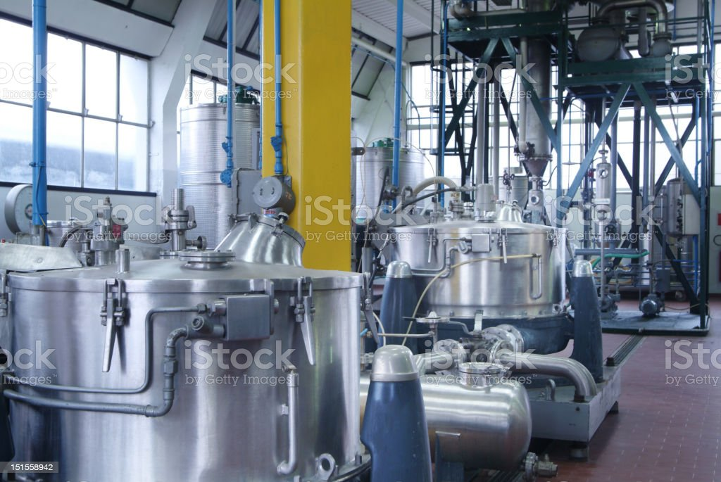 chemical industry stock photo