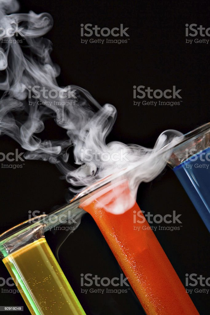 chemical laboratory detail stock photo