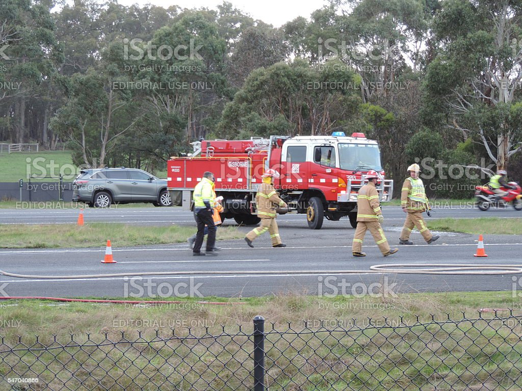 Chemical Spill Cleanup (3) stock photo