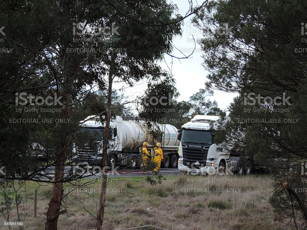 Chemical Spill Cleanup (6) stock photo