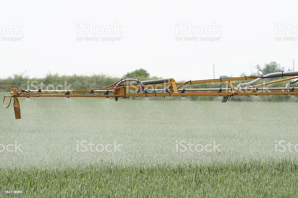 Chemical Spray Boom royalty-free stock photo