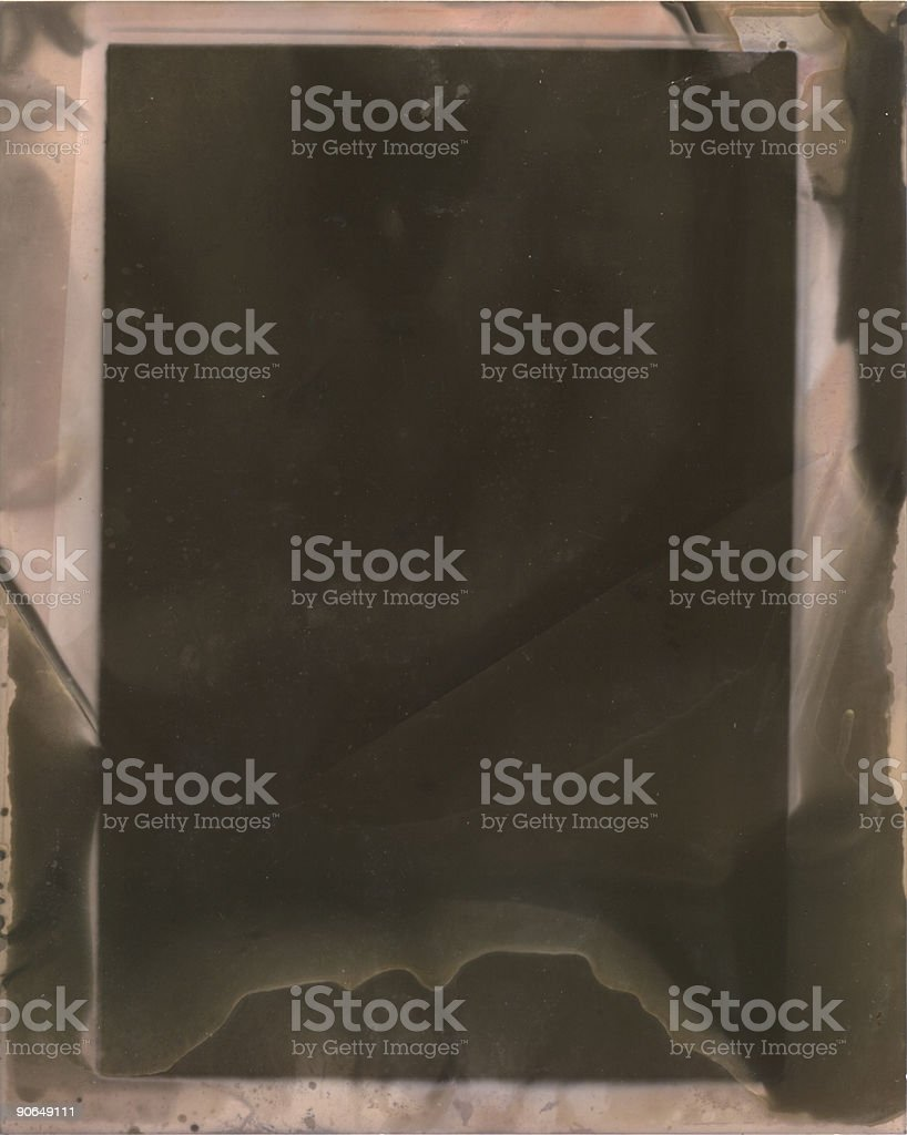 Chemical stain border royalty-free stock photo