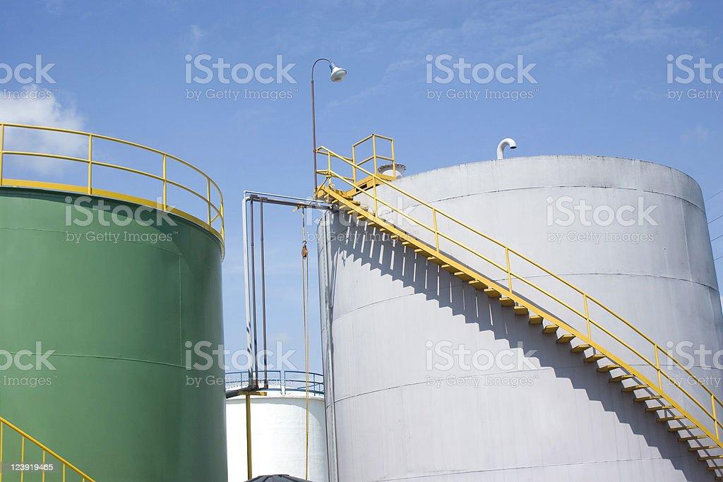Chemical Storage Tank royalty-free stock photo