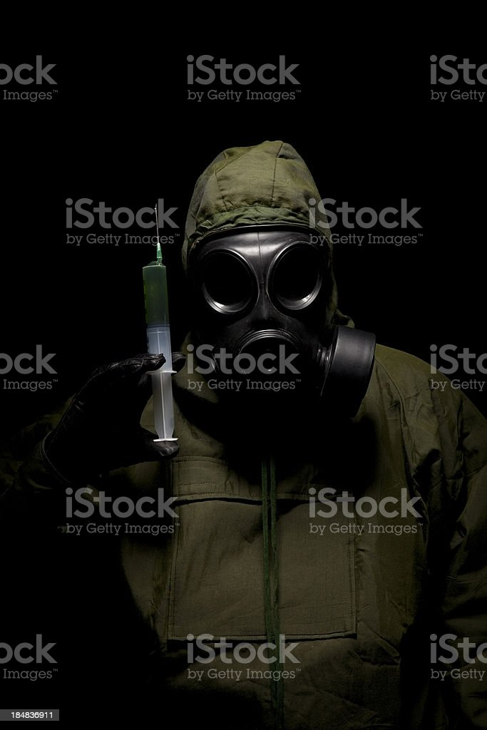 Chemical Warfare royalty-free stock photo