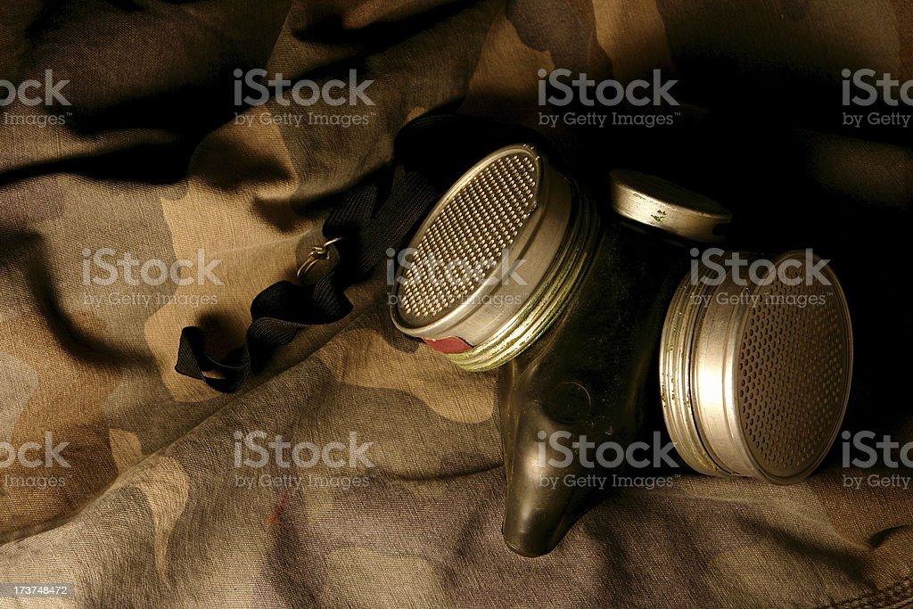 Chemical Warfare Protection stock photo