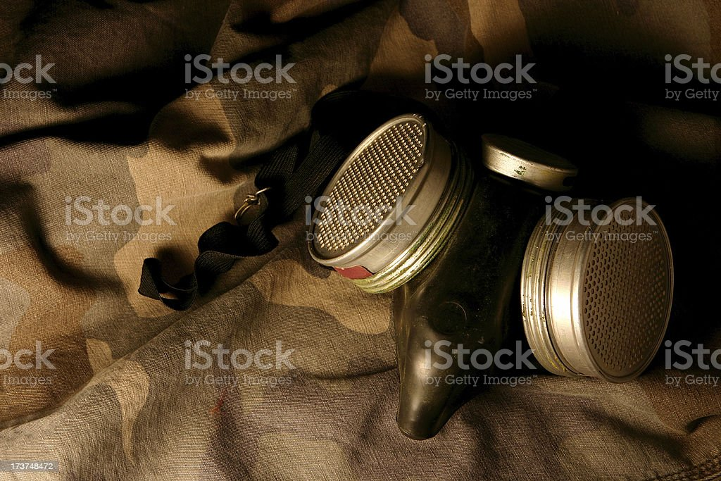 Chemical Warfare Protection stock photo