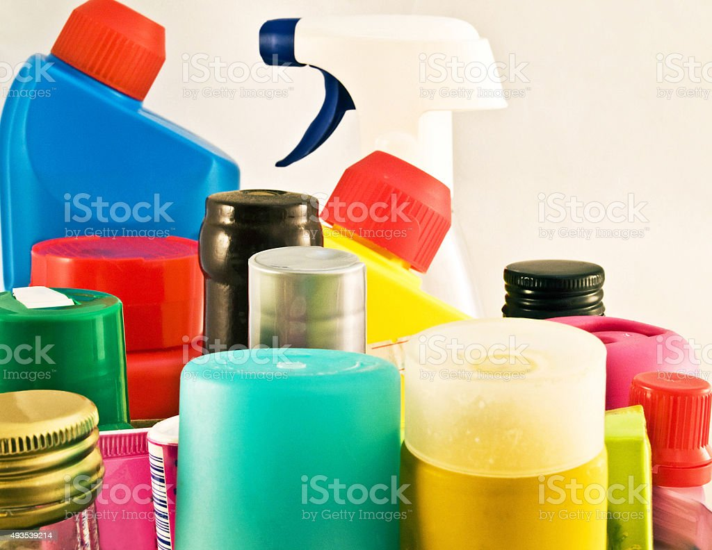 chemicals stock photo