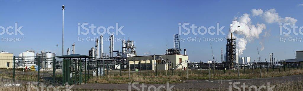 Chemische Industrie 2 royalty-free stock photo