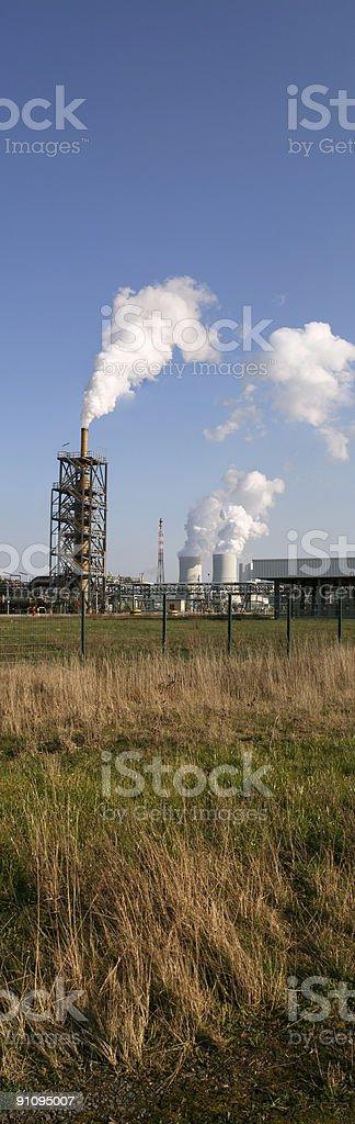 Chemische Industrie 4 royalty-free stock photo