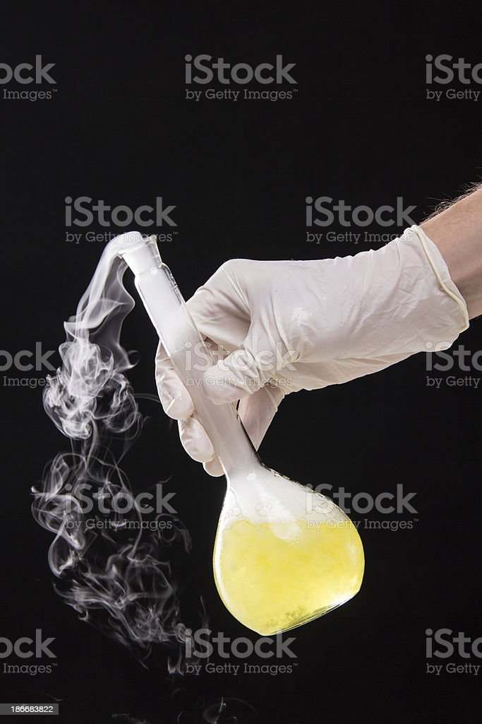 Chemist Hand royalty-free stock photo