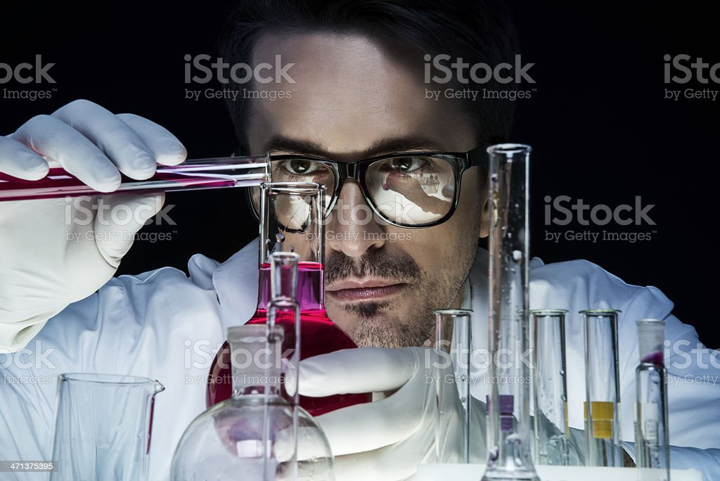 Chemist royalty-free stock photo