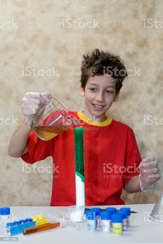 Chemist royalty-free stock photo
