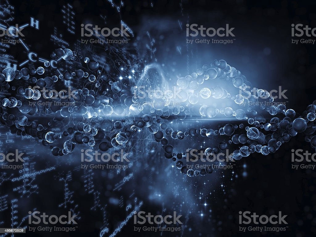 Chemistry Background stock photo