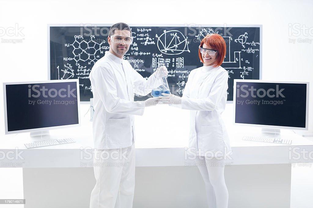 chemistry laboratory analysis royalty-free stock photo