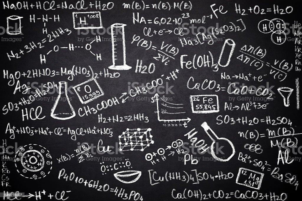 chemistry stock photo
