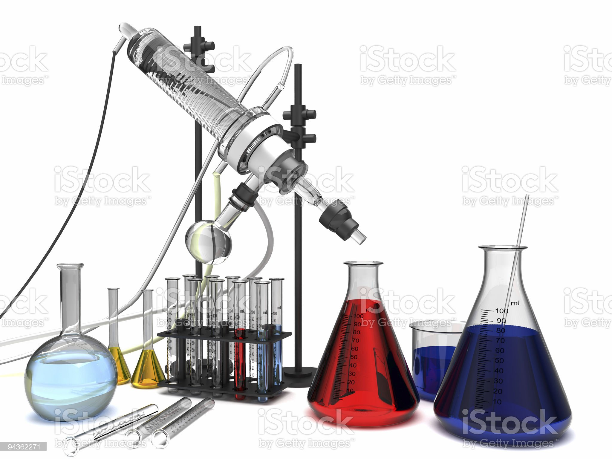 Chemistry royalty-free stock photo