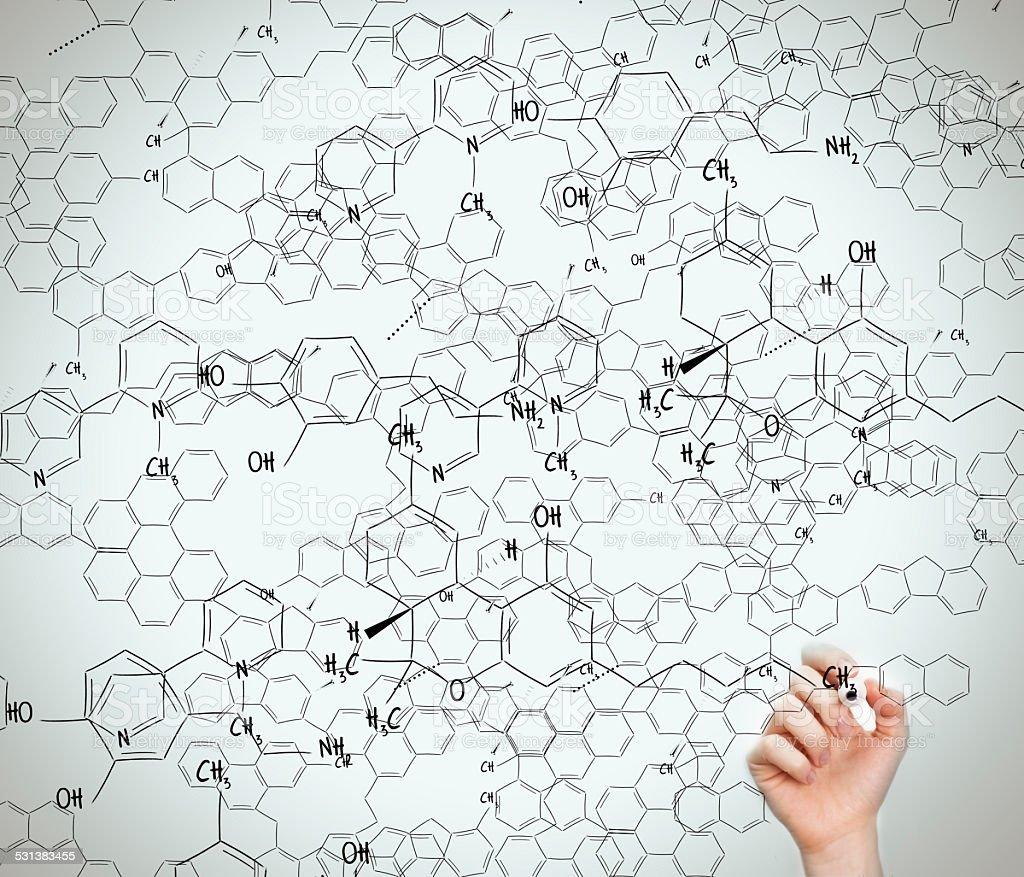 Chemistry science stock photo